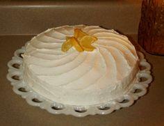 Lemon Buttercream (From Sprinkles Bakery)