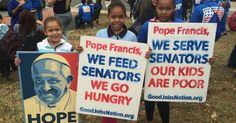 As Pope Francis Arrives in DC, Federal Workers Strike Against Poverty Wages