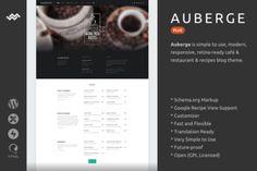 Auberge Plus   WordPress Theme