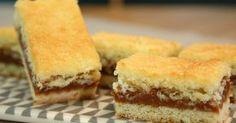 Aprende a preparar esta receta de Cuadrados de Coco y Dulce de Leche de Gross, por Osvaldo Gross en elgourmet