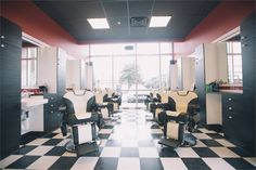 Barber Shop Chair and Design Ideas Salons of the Year 2016: Metro Barber - Awards & Contests - Salon Today