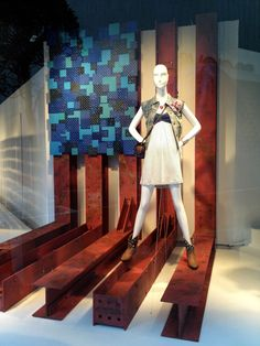 """""""AMERICAN ICONS"""", Macy's NYC, close-up, pinned by Ton van der Veer"""