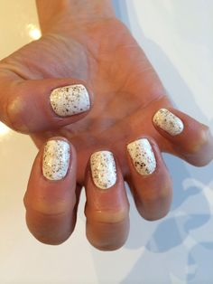 Nails, Christmas, White, Artistic Colour Gloss (nails by me)