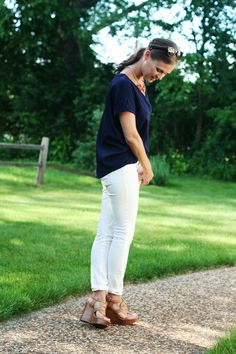 jillgg's good life (for less) | a style blog: my everyday style: a simple tee!