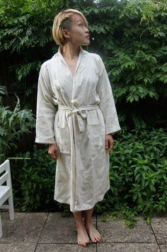 Linen Bathrobe Tutorial | Fabrics-Store.com - The Thread