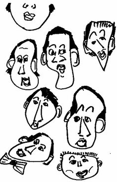 Close up of stupid sketch