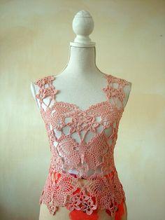 Crochet - Butterflies and flowers