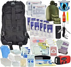 Tactical 365® Operation First Response Stage One 3 Day Bug Out Survival Bag (Stage Two Kit)