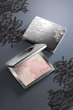 Dior snowflake blush. Don't know the color name but it is stunning!!!! Not even sure if it's available anymore.