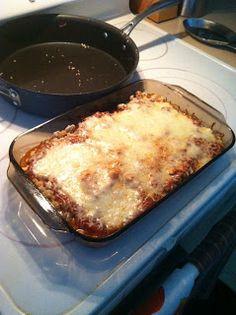 Bariatric Foodie: PWYF Moment: Angela's Italian Melt Casserole