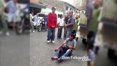 Ladron capturado, Colombia