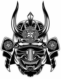 1000+ ideas about Samurai Mask Tattoo on Pinterest | Mask Tattoo ...