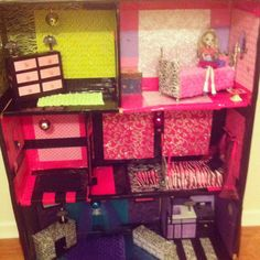 Monster high house made for under $30