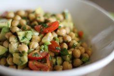 Avacado Chickpea Salad
