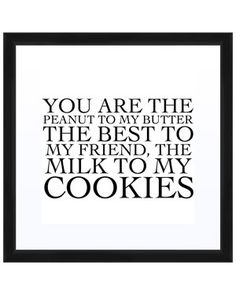 milk to my cookies