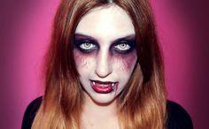 Maquillaje de vampiresa para halloween | Cuidar de tu belleza es facilisimo.com