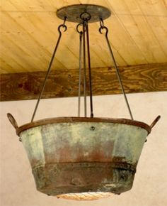 love the patina - craft room?