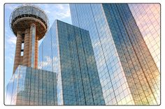 Reunion Tower Hyatt Regency Hotel Dallas Texas Landmark Wolfgang Puck 560 Restaurant Revolving