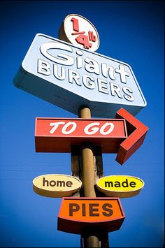 Giant Burgers on MacArthur blvd in Oakland.