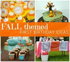 10 Fall Themed First Birthday Ideas | Disney Baby
