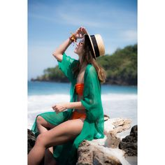 VIRGIN BEACH IN BALI ❤ liked on Polyvore featuring beach and models