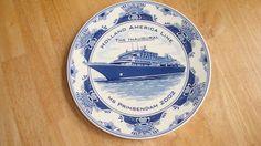 HOLLAND AMERICA LINE THE INAUGURAL MS PRINSENDAM 2002  BLUE DELFT