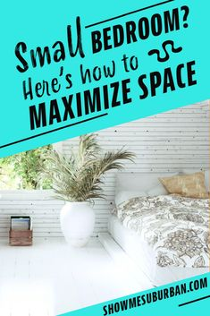 I needed some tips and ideas for how to save space in my small bedroom. This article gave me so much info on tiny bedroom storage and organization hacks! It really helped me maximize the space in my room. #organization #organizinghacks Under Bed Organization, Small Bedroom Organization, Under Bed Storage, Built In Storage, Organization Hacks, Organized Bedroom, Tiny Bedroom Storage, Diy Bedroom, Maximize Space