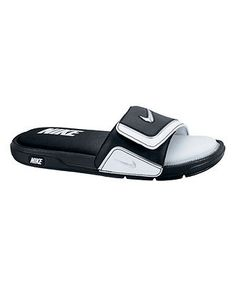 Nike \u0027Jordan Hydro II\u0027 Sandal (Men) Black/ Gym Red/ Black 13 M ($48) ?  liked on Polyvore | funny chizz | Pinterest | Jordans, Nike and Gym