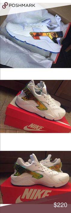 Exclusive Lowrider Nike Air Huarache Exclusive Lowrider Nike Air Huarache. Was only sold at Nice Kicks LA, limited amount was released and will never be sold again!! Size 9.5 men's, brand new! Nike Shoes Sneakers