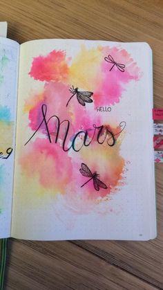 Page de garde Mars @marlene_arts