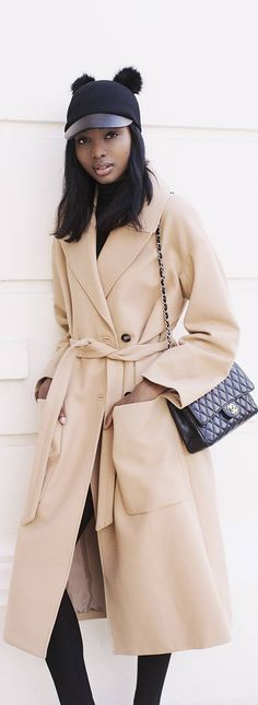 Camel Coat / Fashion By Bisous Natasha