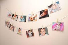 Resultado de imagen para decoracion con fotos colgadas