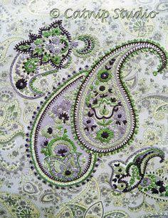 embellished paisley