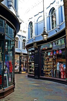 Morgan Arcade - Cardiff, Wales, by Mary Sawtell on Shared by Motorcycle Fairings - Motocc