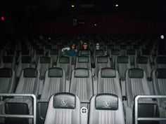 Seeing a movie in an empty theater. | The 36 Absolute Best Things In The World