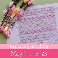 Beginning Smocking - Children's Corner Store Smocking Plates, Smocking Patterns, Sewing Patterns Free, Skirt Patterns, Coat Patterns, Blouse Patterns, Sewing Kids Clothes, Sewing For Kids, Baby Sewing