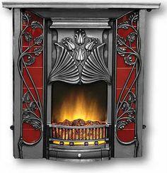 fireplace (art nouveau)