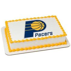 Indiana Pacers NBA Edible Cake, Cupcake & Cookie Topper