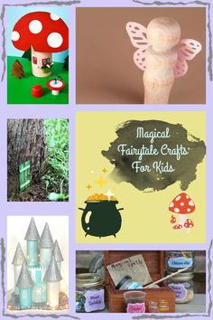 fairy tale crafts for kids Paper Crafts For Kids, Easy Crafts For Kids, Fairy Tale Crafts, Cool Kids, Kids Fun, Fairy Tales, Seasons, Crafty, Activities
