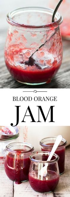 Beautiful and delicately delicious Blood Orange Jam ~ preserves | Mother's Day | Valentine's Day | citrus | breakfast | marmalade | orange jam |