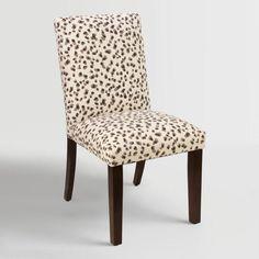 Snow Leopard Kerri Upholstered Dining Chair - v1