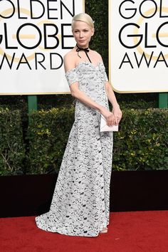 Michelle Williams and The Secret of the Mysterious Golden Globes Gown | Tom + Lorenzo
