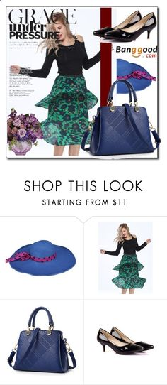 Spring look with Banggood by danijela-3 ❤ liked on Polyvore featuring romwe