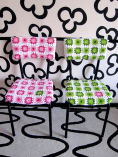 Crochet Chairs