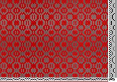 Bertha Gray Hayes | Trellis: pattern no. 55 | overshot | 4-shaft, 6-treadle