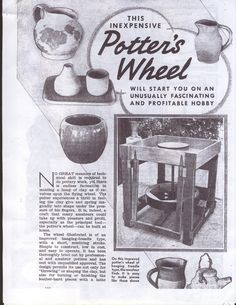 Potters Kick Wheel