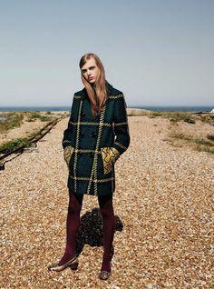 "Duchess Dior: ""Til the End of the World"" Hedvig Palm for Harper's Bazaar Germany September 2015"
