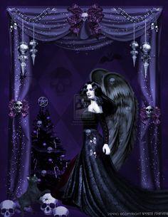 Gothic Angels Celebration by pixievamp on deviantART