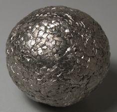 Pyrite sphere from the Hengyang Baifang coal mines, Hunan Province, China