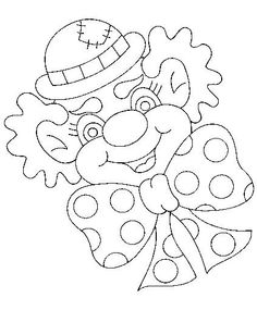 színező Colouring Pages, Adult Coloring Pages, Coloring Sheets, Coloring Books, Diy And Crafts, Crafts For Kids, Arts And Crafts, Theme Carnaval, Clown Crafts